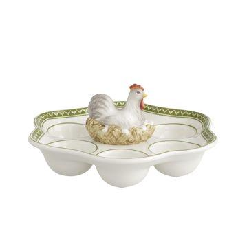 Villeroy & Boch - Farmers Spring - talerz na jajka - średnica: 23 cm