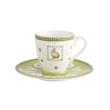 Villeroy & Boch - Farmers Spring - filiżanka do kawy ze spodkiem - pojemność: 0,22 l
