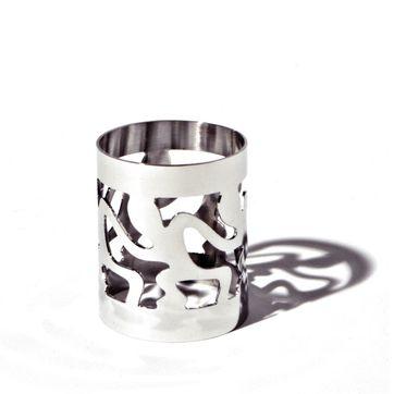 Alessi - Ethno - obrączka na serwetkę - długość: 5 cm