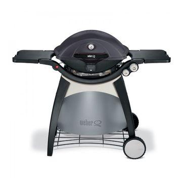 Weber - Q 320 - grill gazowy Black Line Pascal Brodnicki Edition - ze stolikami bocznymi