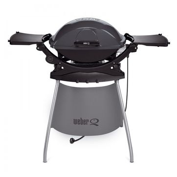 Weber - Q 240 Stand - grill elektryczny ze stolikami bocznymi