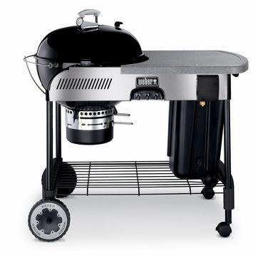 Weber - One-Touch Performer Touch'N'Go - ogrodowy grill węglowy z rozpalaniem gazowym - ruszt: 57 cm