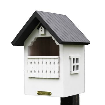 Wildlife Garden - domek dla ptaków - wymiary: 16 x 16 x 21,5 cm