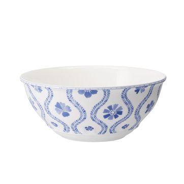Villeroy & Boch - Farmhouse Touch Blueflowers - miska sałatkowa - średnica: 32 cm