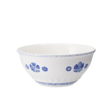 Villeroy & Boch - Farmhouse Touch Blueflowers - miska sałatkowa - średnica: 24 cm