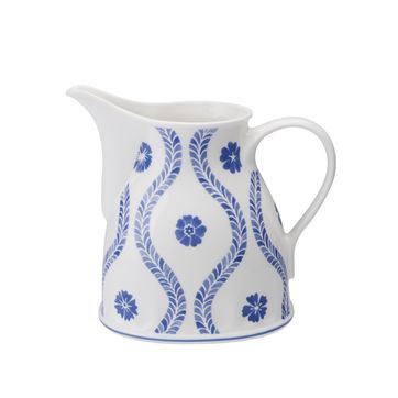 Villeroy & Boch - Farmhouse Touch Blueflowers - sosjerka lub mlecznik - pojemność: 0,55 l