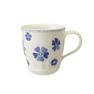 Villeroy & Boch - Farmhouse Touch Blueflowers - kubek - pojemność: 0,4 l