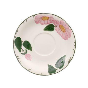 Villeroy & Boch - Wildrose - spodek do filiżanki śniadaniowej - średnica: 17 cm