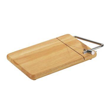 Zassenhaus - Kauczukowiec - deska z nożem do sera - wymiary: 25 x 18 cm