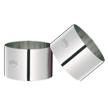 Küchenprofi - 4 foremki do deserów i dekoracji - średnica: 8 cm
