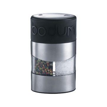 Bodum - Twin - podwójny młynek do soli i pieprzu - wysokość: 11 cm