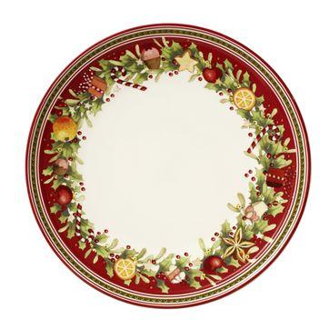 Villeroy & Boch - Winter Bakery Delight - talerz na przekąski - średnica: 27 cm