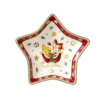 Villeroy & Boch - Winter Bakery Delight - miseczka gwiazda - wymiary: 14 x 13 cm