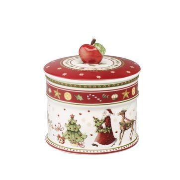 Villeroy & Boch - Winter Bakery Delight - małe pudełko na ciastka - wymiary: 12 x 11 cm
