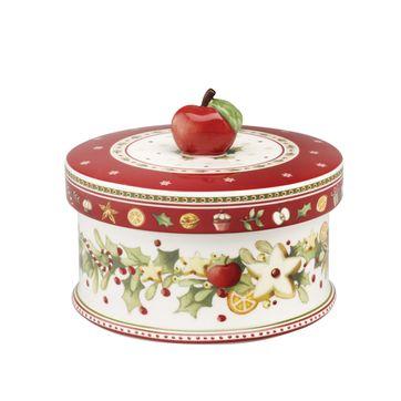 Villeroy & Boch - Winter Bakery Delight - średnie pudełko na ciastka - wymiary: 11 x 13 cm