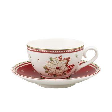 Villeroy & Boch - Winter Bakery Delight - filiżanka do herbaty ze spodkiem