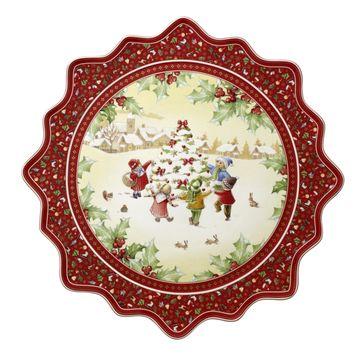 Villeroy & Boch - Toy's Fantasy - duży talerz na ciasto - średnica: 42 cm