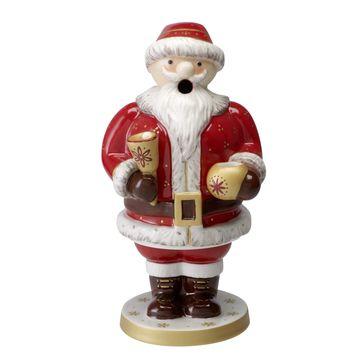Villeroy & Boch - Nostalgic Light - figurka-kominek zapachowy Mikołaj - wysokość: 24 cm