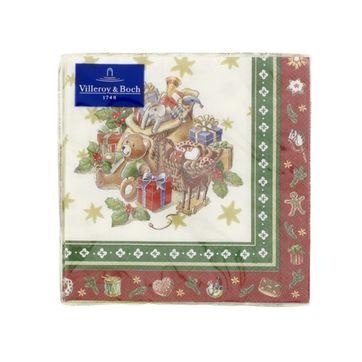 Villeroy & Boch - Toy's Delight Specials - serwetki z zabawkami - wymiary: 25 x 25 cm