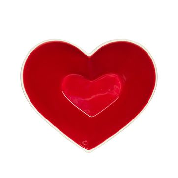 Sagaform - Christmas - miseczka serce - wymiary: 13 x 11 cm