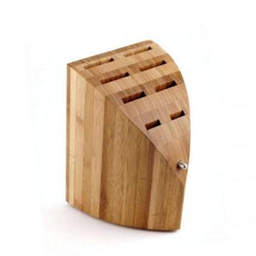 Chroma - Type 301 - bambusowy blok na noże - wymiary: 21 x 15 x 26 cm