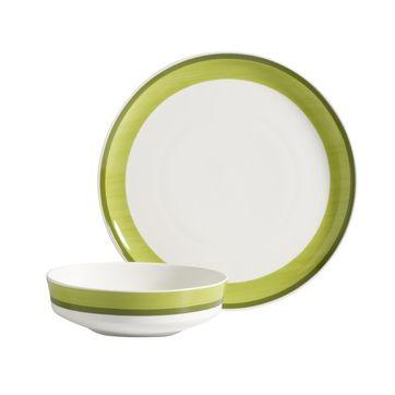 vivo | Villeroy & Boch - Just Green - zestaw obiadowy - dla 6 osób