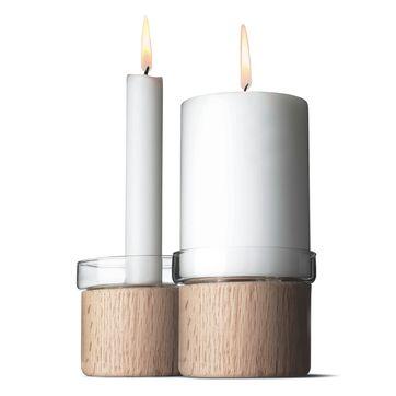 Menu - Chunk - 2 świeczniki - wysokość: 8 cm