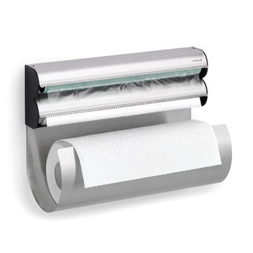 Blomus - Obar - wieszak na folię, papier i ręczniki - wymiary: 23,5 x 32 x 14 cm