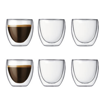 Bodum - Pavina - zestaw 6 szklanek
