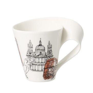 Villeroy & Boch - New Wave Caffe London - duży kubek - pojemność: 0,3 l
