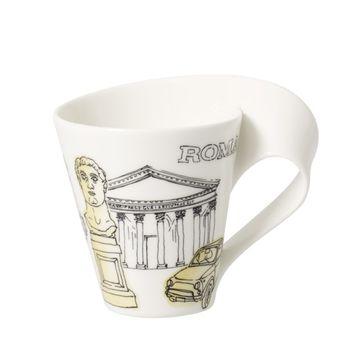 Villeroy & Boch - New Wave Caffe Rome - kubek - pojemność: 0,3 l