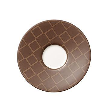 Villeroy & Boch - Caffé Club Mocha - spodek do filiżanki do espresso - średnica: 12 cm