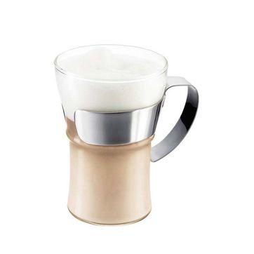 Bodum - Assam - 2 szklanki ze stalowym uchwytem - pojemność: 0,3 l
