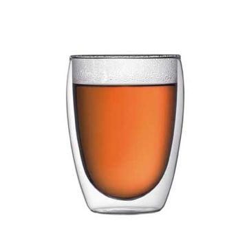 Bodum - Pavina - 2 szklanki o podwójnych ściankach - pojemność: 0,36 l
