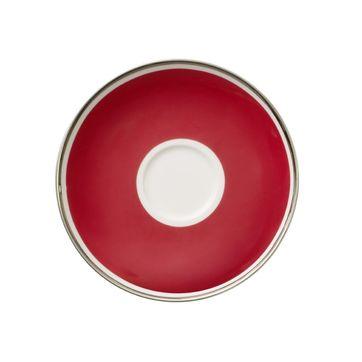 Villeroy & Boch - My Colour Red Cherry - spodek do filiżanki do kawy - średnica: 15 cm