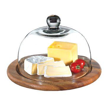 Zassenhaus - Akacja - deska do sera z pokrywą - średnica: 25 cm