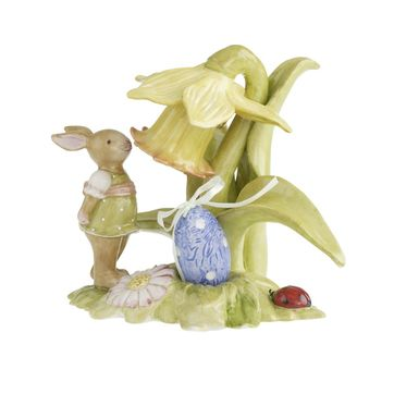 Villeroy & Boch - Bunny Family - zajączek z narcyzem