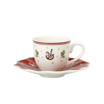 Villeroy & Boch - Toy's Delight - filiżanka do espresso ze spodkiem - pojemność: 0,1 l
