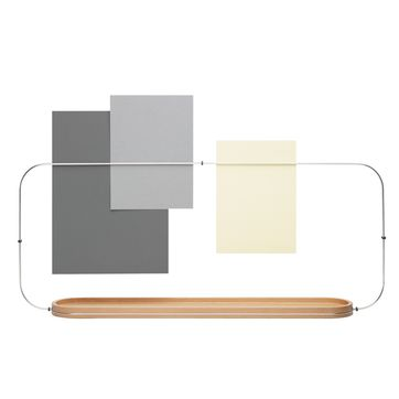 Alessi - Fierzo - organizer na biurko - wymiary: 66 x 26,8 cm