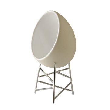 Alessi - Le Nid - kieliszek do przyrządzania i serwowania jajek - wysokość: 16 cm