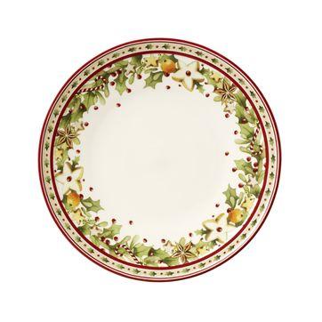 Villeroy & Boch - Winter Bakery Delight - mały talerz na przekąski - średnica: 23,5 cm