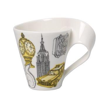 Villeroy & Boch - New Wave Caffe New York - duży kubek w opakowaniu prezentowym - pojemność: 0,3 l