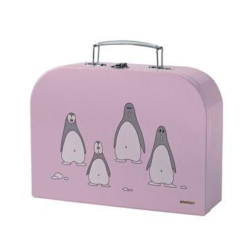 Stelton - Penguin - zestaw sztućców dla dzieci - widelec, łyżeczka, nóż