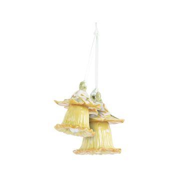 Villeroy & Boch - Mini Flower Bells - 2 małe zawieszki - żonkile - wysokość kwiatu: 5 cm