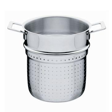 A di Alessi - Pots&Pans - wkład do gotowania makaronu - średnica: 20 cm