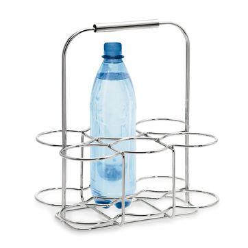 Blomus - Wires - koszyk na 6 butelek - wymiary: 29 x 20 x 34 cm