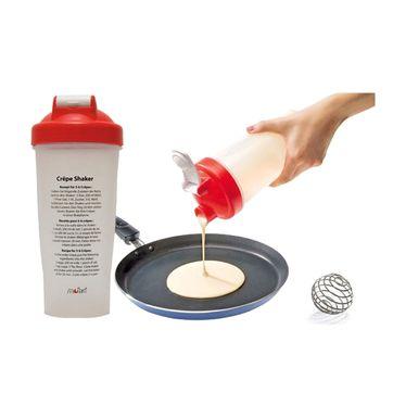 Moha - Crepes Shaker - shaker do naleśników - pojemność: 0,6 l