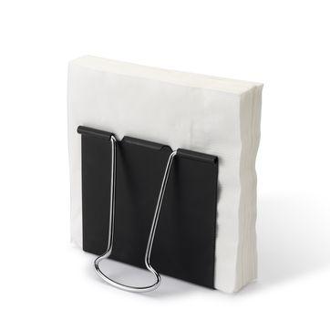 PO: - Clip - serwetnik - wymiary: 11,6 x 11,8 cm
