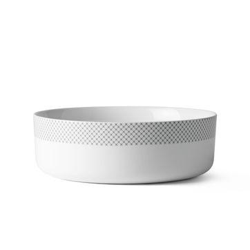 Menu - Grey Stitches - miska - średnica: 22 cm