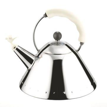 Alessi - czajnik z gwizdkiem w kształcie ptaszka - pojemność: 2,0 l